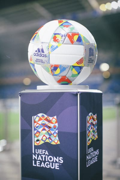 Euro 2020 Tournament Ball at Sammy Ofer Stadium