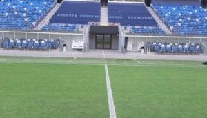 ספסלי השחקנים באצטדיון סמי עופר